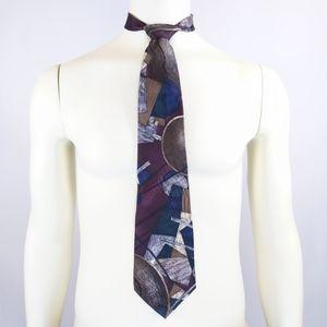 Pierre Cardin global village necktie